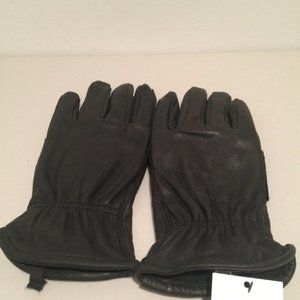 Goodfellow Brown Leather Men Driving Glove M L NWT
